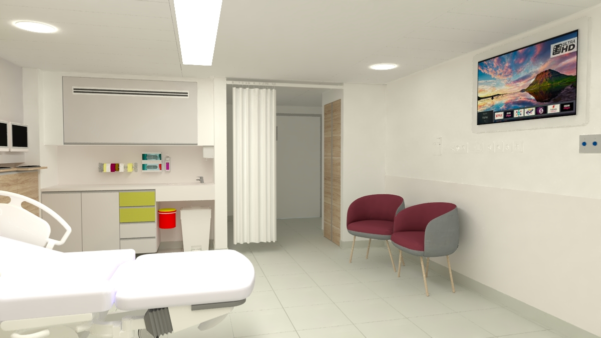 Renovation of a Delivery Room